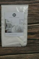 Hotel Collection Linen Collection Solid 100 % Linen KING Pillowcases White $125