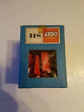 Lego System 418 60/70´er Jahre 21 x 2x4 Steine rot original Karton