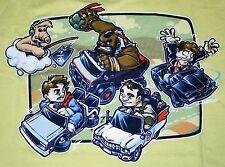 """""""Super 80s Kart"""" ALF Mr.T Knight Rider Ghostbusters Women's XXXL Shirt Teefury"""
