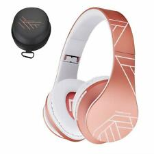 Wireless Bluetooth Stereo Foldable Over-Ear Headphones