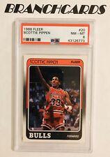 1988-89 Fleer Scottie Pippen RC PSA 8 #20