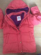 "Boys Orange/red ""Mini Boden"" Warm/ Padded Puffer Jacket Age 9-10"