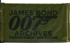 James Bond Archives 2014 Factory Sealed Hobby Packet / Pack