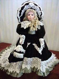 "Mackenzie 27"" Porcelain Doll by Janis Berard"