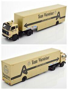1/43 Ixo Camion Volvo F89 Transport Course Warsteiner Arrows Livraison Domicile