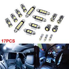 17Pcs/Set Error Free Premium White Interior LED Light Package Light Bulb Lamp