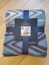 Pendleton Home Collection Reversable Jacquard Classic Throw Sunset Cross New