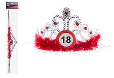 Krone Geburtstag Verkehrszeichen 18 Jahre
