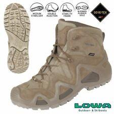 Amphibienschuhe LOWA Zephyr GTX Mid TF Stiefel aus wasserdichtem Goretex COYOTE