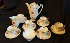 Royal Doulton ART DECO Six Setting Coffee Set and Coffee Pot - 1930s