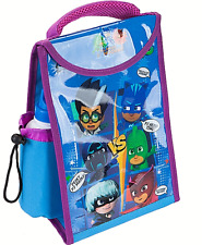 PJ Masks Lunch bag & Drinks Bottle Kids Insulated Childrens Cool School Fabric