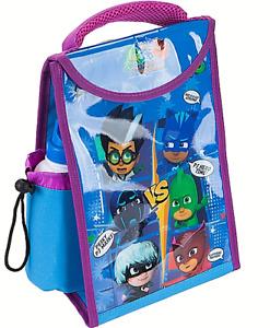 PJ Masks Lunch bag & Drinks Bottle Kids Insulated Childrens Cool School Fabric
