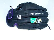 Mizuno 12.5� Prospect Finch Mitt, Youth, Left Hand Throw, Blac 00004000 k and Purple