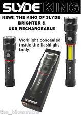 Nebo Slyde King LED Flashlight& Worklight Magnetc USB Rechargabl Slide 6434 Zoom