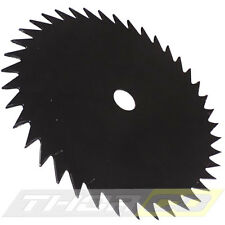 BRUSH CUTTER STRIMMER BLADE 40 TOOTH FITS MOST PETROL CUTTERS WOOD, BRUSH SHRUBS