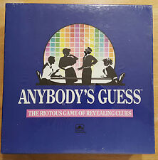Anybody's Guess The Riotous Game of Revealing Clues NIB by Golden