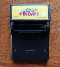 GBC-NINTENDO GAMEBOY COLOR GIOCO POKEMON PINBALL incl. funzione Rumble