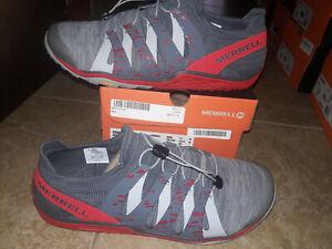 NEW $100 Mens Merrell Trail Glove 5 Running Shoes, sz 11