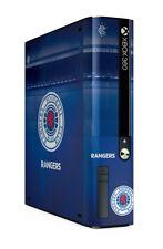 Xbox 360 E GO Console Skin Sticker Rangers Football Club Official Gers Brand New