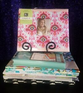 Lot of Scrapbook Kits & Albums, Marcella & Simply K Colorbok Stickers & Papers