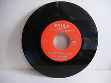 Uniques, Fast Way Of Living / Not Too Long Ago, Paula 219, 1965, Northern Soul