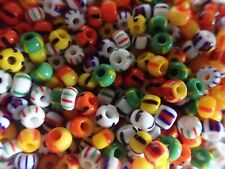 mix STRIPES 5/0 E 45 grams Czech glass seed E beads