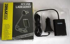 KFZ-USB-Ladegrät von Pure Work / 4x USB Ausgang / mit Verlängerung