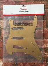 Fender USA '57 Stratocaster 8-Hole Pickguard, Gold Anodized Strat Scratchplate