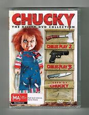 Child's Play 2 / Child's Play 3 / Seed of Chucky (3-Movie Collection) Dvds New