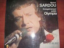 MICHEL  SARDOU  33 TOURS  OLYMPIA    ENREGISTREMENT PUBLIC