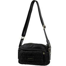 Esprit Damen Handtasche Farbe Schwarz Tasche Schultertasche Stepp Nähte Lady Bag