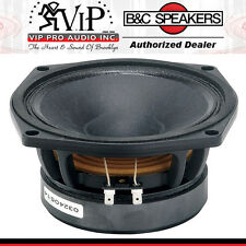 "B&C 6MD38 6.5"" Midrange 8 Ohm Low Frequency Speaker three & four way systems NEW"