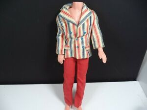 "Barbie "" KEN "" 1970 Red White & Wild Sears Exclusive #1589 HTF Please Read Lot K"
