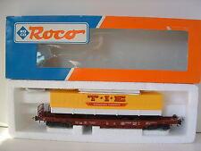 """ROCO H0 46362 Einheitstaschenwagen DB """"T.I.E."""" OVP M355"""