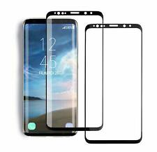 Samsung Galaxy S9 Screen Protector Full Max Coverage Clear Tempered Glass 2 PACK