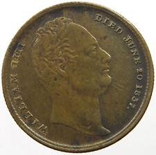1837 GREAT BRITAIN WILLIAM IIII DEATH TOKEN COMMEMORATIVE #mr 429