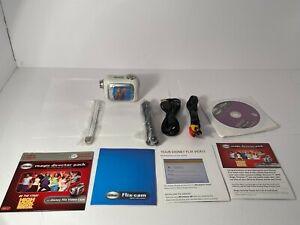 💕 Disney Kids Flix Cam Digital Video Camera w/ Magic Director UNTESTED M2
