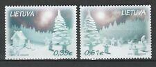 Lithuania 2015 Christmas 2 MNH stamps