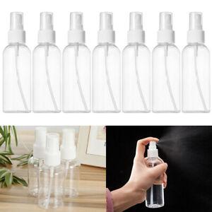 10x 50ML Clear Empty Plastic Perfume Atomizer Beauty Travel Small Spray Bottles