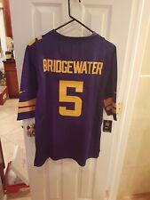 Minnesota Vikings teddy Bridgewater number #5 large Jersey purple sticthed SALE
