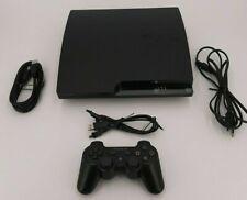 Playstation 3 Konsole Slim 320 GB schwarz Spielkonsole PS3 mit Controller