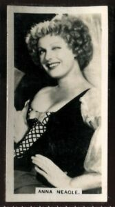 Tobacco Card, Carreras, FILM STARS, 2nd Series, 1938, Anna Neagle, #43