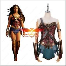 Wonder Woman Diana Prince Female Adult Dress Cosplay Costume Suits Costume Made