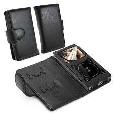 TUFF LUV Faux Leather Case Cover for Fiio X3 III (3rd Gen) Mp3 - Black