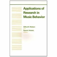 Applications of Research in Music Behavior by
