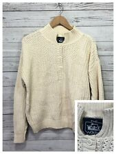 VTG Woolrich Womens Pullover Sweater Beige Size Tag removed  - See Measurements