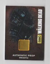 The Walking Dead AMC Prop Trading Card Wine Bottle M50