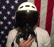 Authentic RUSSIAN MIG Flight Pilot Helmet w/Oxygen Mask USSR Air Force MiG