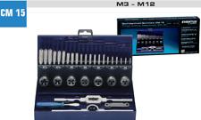 Gewindeschneider Satz M3-M12 DIN352 Gewindeschneidsortiment HSS 32-teilig 10711A