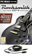 ROCKSMITH 2 PC DVD ALL - NEW 2014 EDITION + REAL TONE CABLE ENGLISH PAL